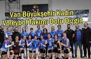 Van Büyükşehir Kadın Voleybol Takımı Dolu Dizgin