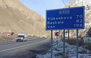 Van-Hakkari Karayolunda Köprü Çöktü