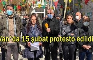 Van HDP'den 15 şubat protestosu