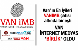 Van İnternet Medyası tek çatı altında birleşti
