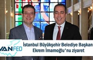 VanFED'den İBB Başkanı İmamoğlu'na ziyaret