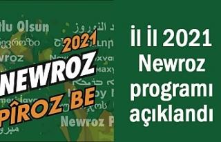2021 Newroz programı netleşti
