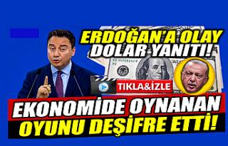 Ali Babacan ekonomide oynanan oyunu deşifre etti!
