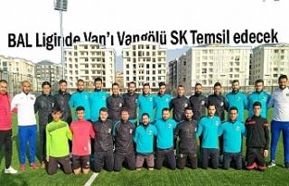 BAL Liginde Van'ı Vangölü SK Temsil edecek