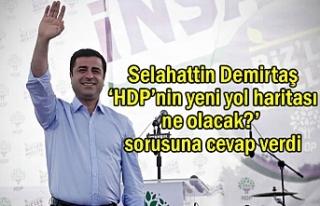 Demirtaş: HDP hukuksuz saldırıları sandıkta boşa...