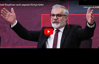 Hadi Özışık Kürtçe türkü okudu