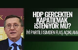 'HDP Kapatılsın' Çağrılarına Karşı...