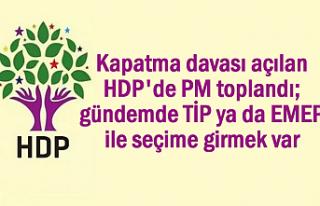 HDP'nin Gündemi: TİP ya da EMEP ile seçime...