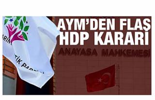 HDP'yi kapatma davasında flaş gelişme