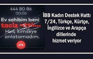 İBB Kadın Destek Hattı Kürtçe ve 3 Dilde Hizmet...