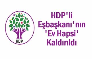 Van'da HDP'li Eşbaşkanı'nın 'Ev...