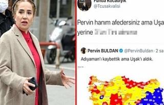 Uşak Valisi Kocabıyık'tan, 'HDP'li Buldan'a...