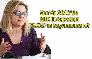 Van'da 2016'da KHK ile kapatılan VAKAD'ın...