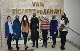 """Van'da """"Kadın Kooperatifi"""" kuruldu"""