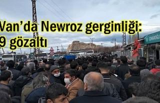 Van'da Newroz gerginliği: 9 gözaltı