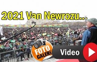 Van'da Onbinler Newroz Alanına Aktı