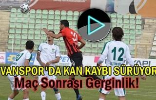 Vanspor evinde Kırşehirspor'a yenildi