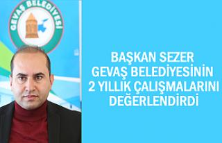 Başkan Sezer Belediyenin 2 Yıllık Çalışmalarını...