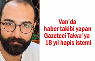 Gazeteci Ruşen Takva'ya haber takibinden 18 yıl...