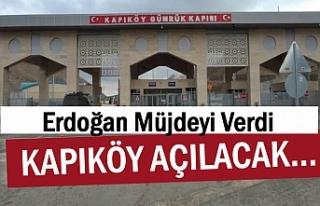 Kapıköy Sınır Kapısı açılıyor! İran Tarafında...