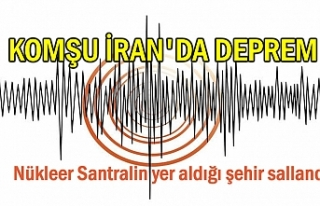 Komşu İran'da 5.9'luk deprem