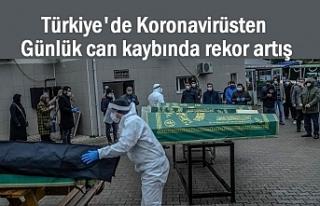 Koronavirüse 55 Bin Yeni Vaka, 341 Kişi Hayatını...