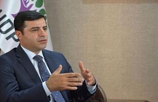 Selahattin Demirtaş'tan mahkeme kararına tepki