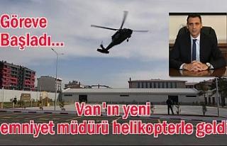 Van i̇l emniyet müdürü Atanur Aydın göreve başladı