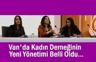 Van Kadın Derneğinin Yeni Yönetimi Belli Oldu