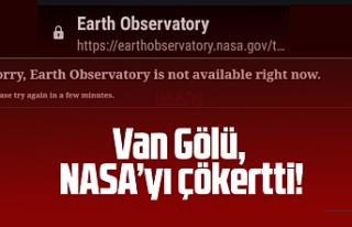 Vanlılar NASA'nın sitesini çökertti! Van...