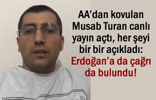 AA'dan kovulan Musab Turan'dan Zehir Zemberek...