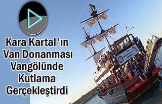 'Beşiktaş'ın Van Donanması' Vangölünde...