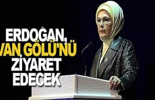 Erdoğan VanGölü için Van'a geliyor