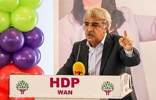 "HDP'li Sancar ""Esas hesap bütün muhalefeti..."