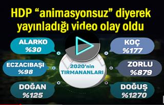 HDP'nin yayınladığı video olay oldu