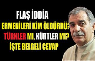 'Kürtlerin Ermenileri öldürdüğü' politikası...