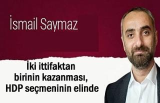Saymaz: Kazananı HDP Belirleyecek