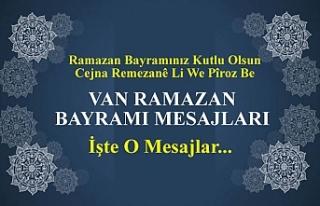 Van Ramazan Bayramı Mesajları