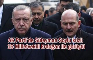 AK Parti'de Bakan Soylu krizi...