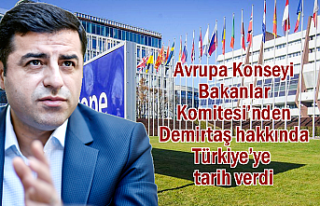 Avrupa Konseyi Demirtaş için Türkiye'ye tarih...