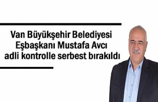 Eşbaşkan Mustafa Avcı adli kontrolle serbest bırakıldı