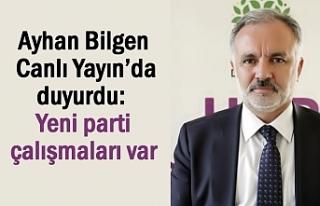 Ayhan Bilgen HaberTurk'e Konuştu: Yeni parti...
