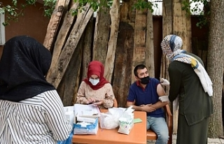 Çatak Halk Eğitim Merkezinden aşı seferberliği