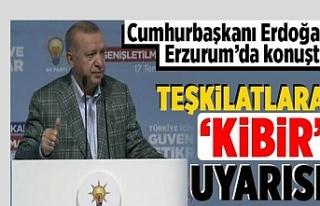 Erdoğan'dan Seçim Sinyalı: Kapı kapı dolaşmalarını...