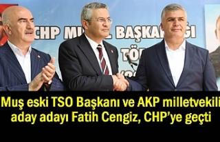 Eski Başkan AKP milletvekili aday adayı CHP'ye...