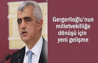 HDP'li Gergerlioğlu meclise geri dönüyor