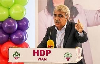 HDP'li Sancar: Demokratik cumhuriyeti hep birlikte...