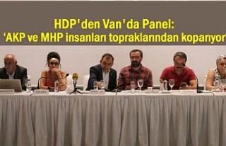 HDP'nin Gündemi Van'da Mülteci Sorunu!