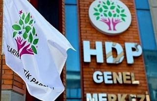 HDP'den Yangın açıklaması