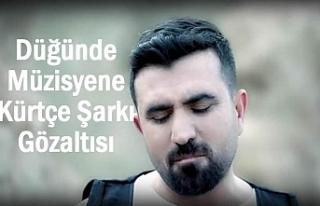 Kürtçe şarkı söyleyen müzisyen gözaltına alındı